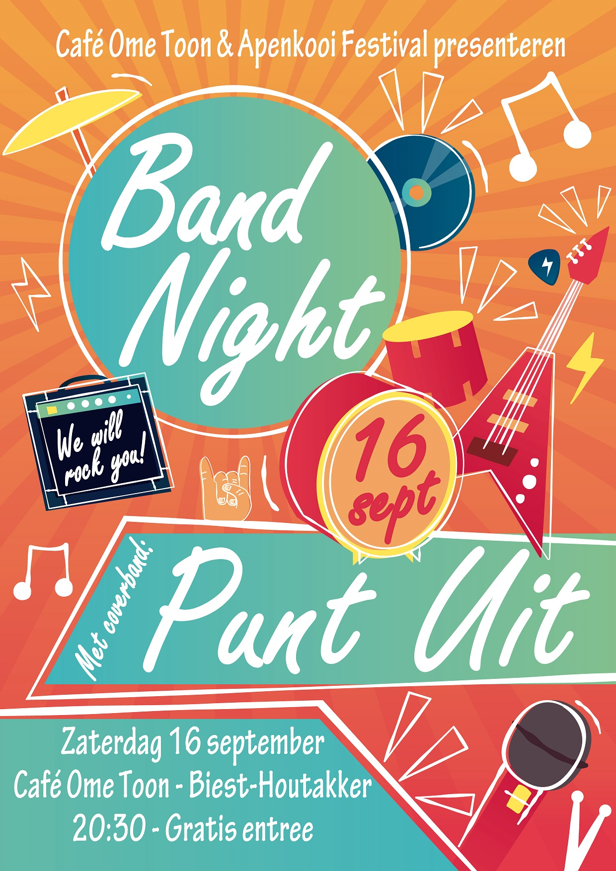 Flyer Band Night