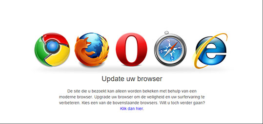 Browser update